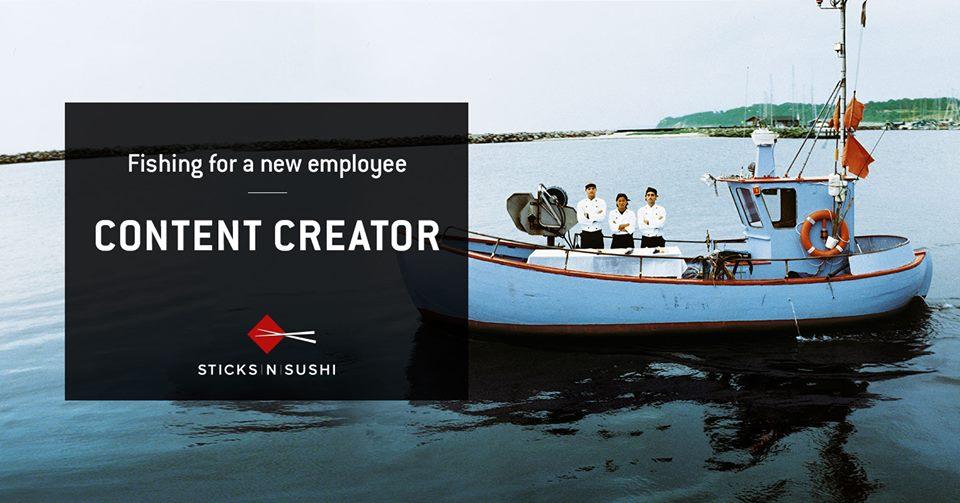 Grafisk opslag - Sticks'n'sushi